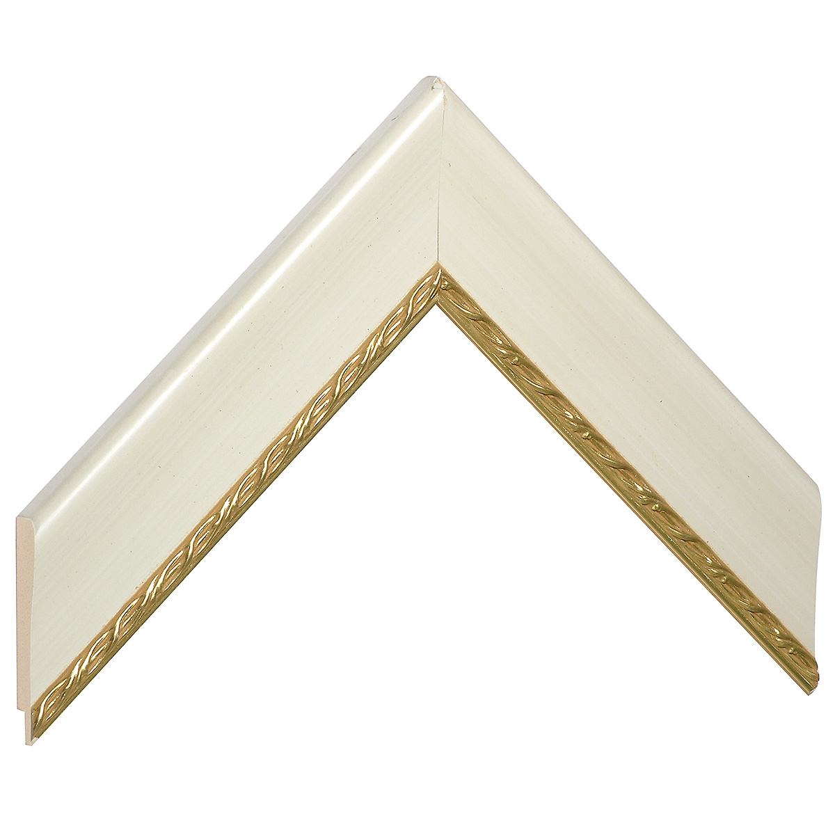 Liner pine 40mm - with gold decoration