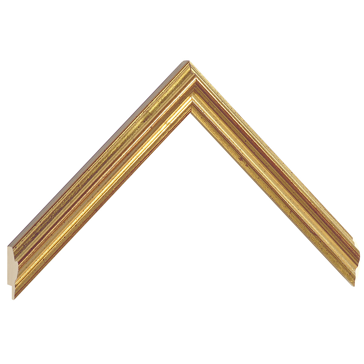 Moulding ayous 22mm - antique gold