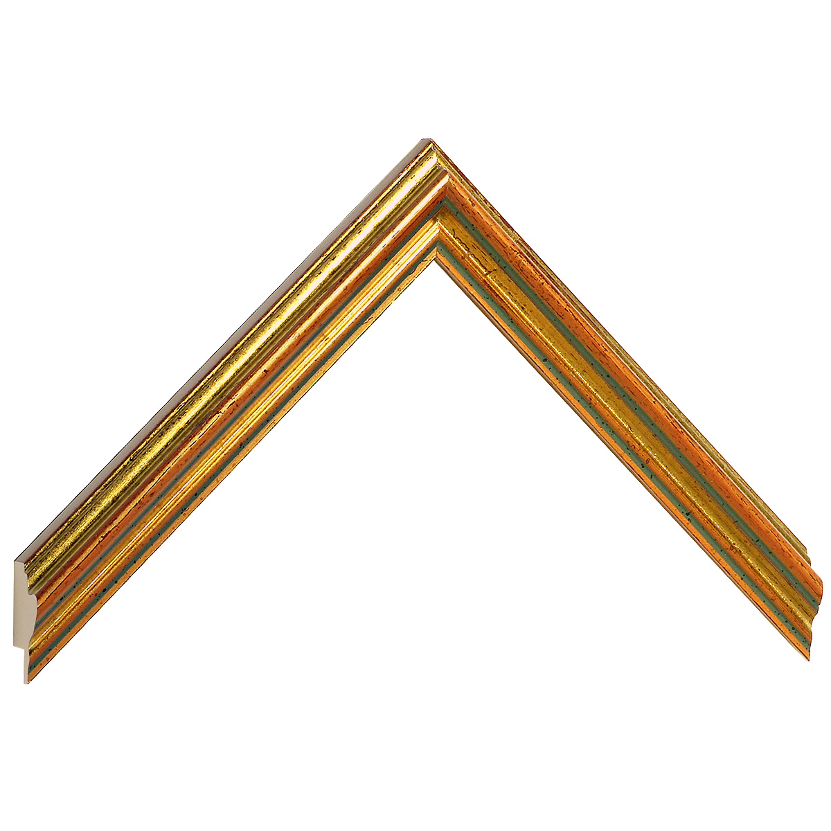 Moulding ayous 22mm - copper gold