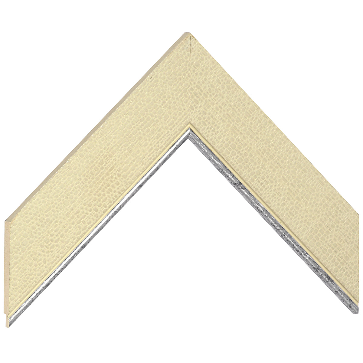 Liner ayous 42mm - flat, fabric effect, gold edge