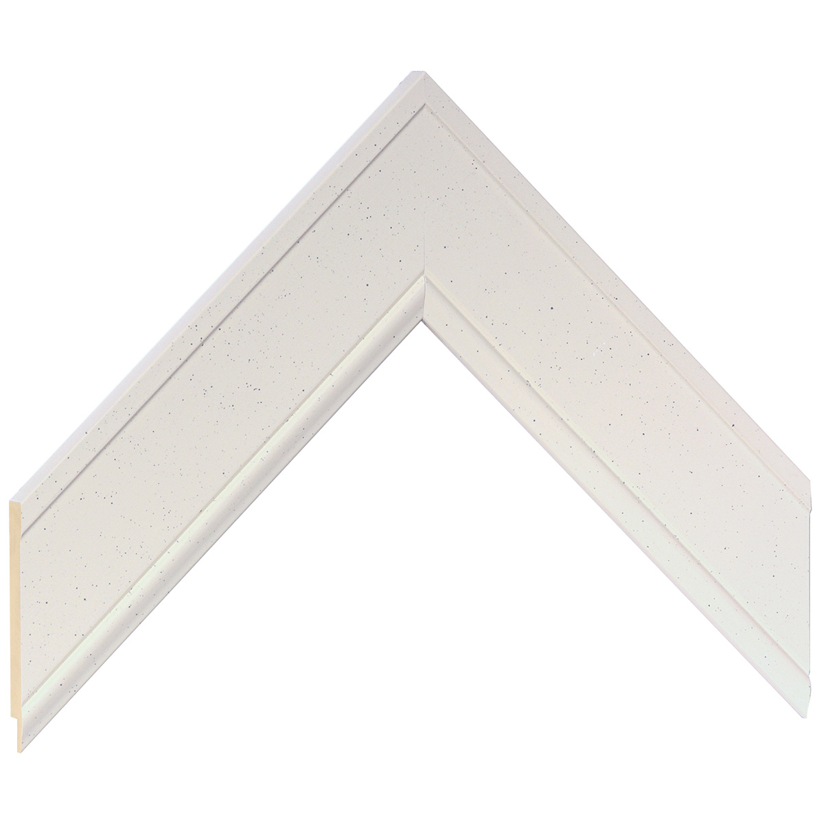 Liner ayous 45mm - flat, white without edge
