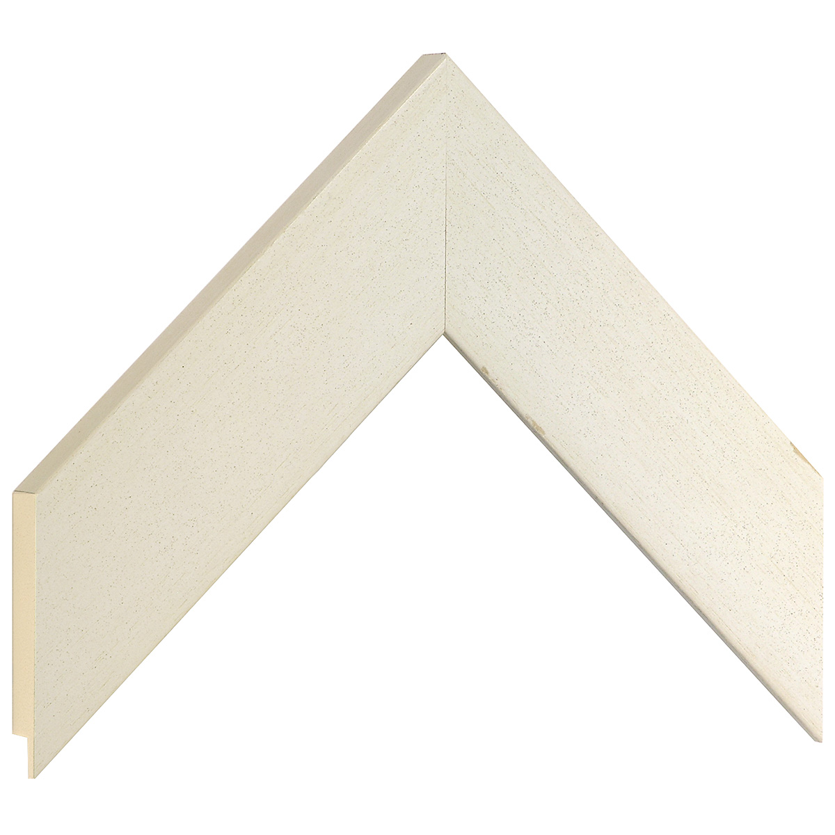 Moulding ayous 49mm - distressed cream finish