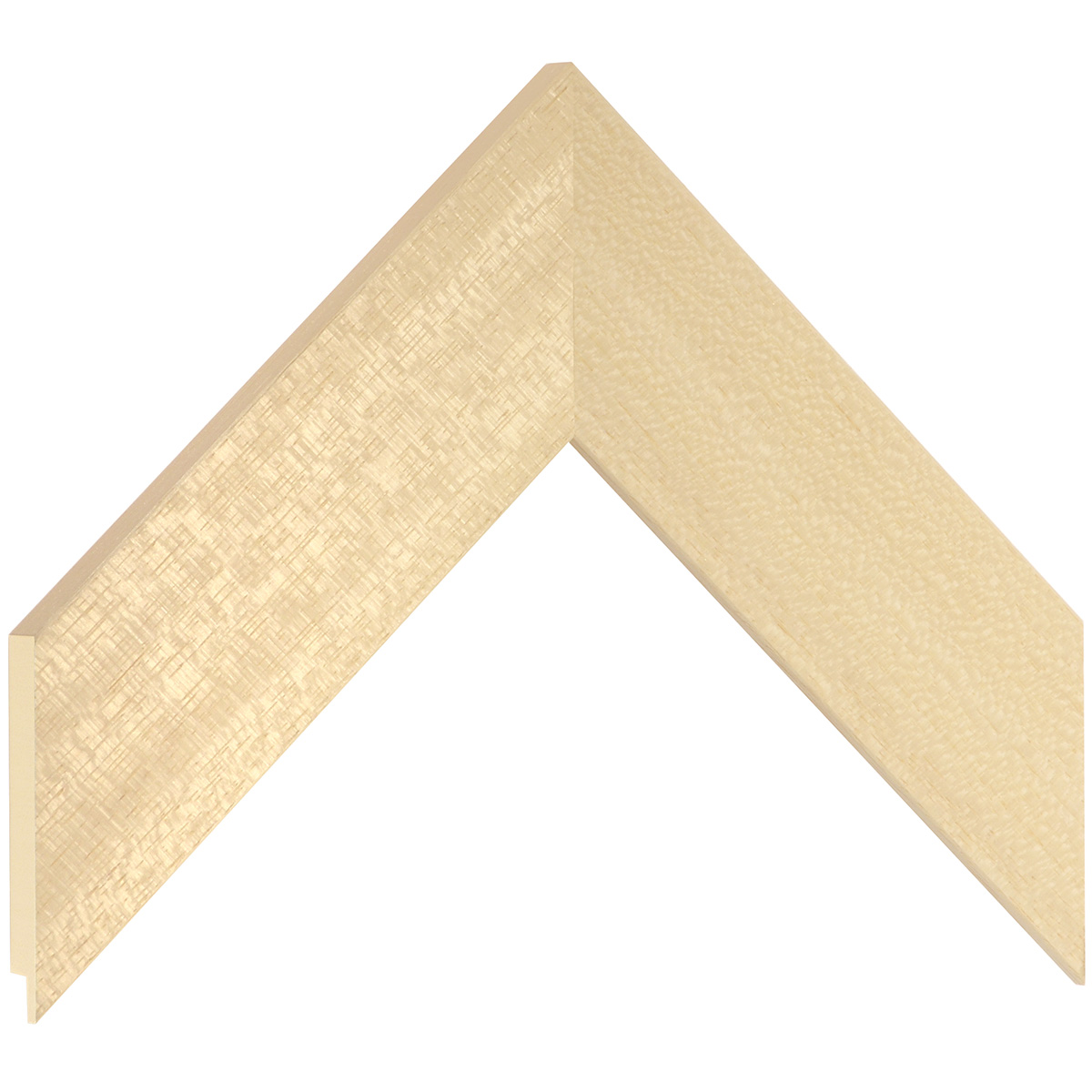 Moulding ayous, width 50mm, height 15mm, bare timber