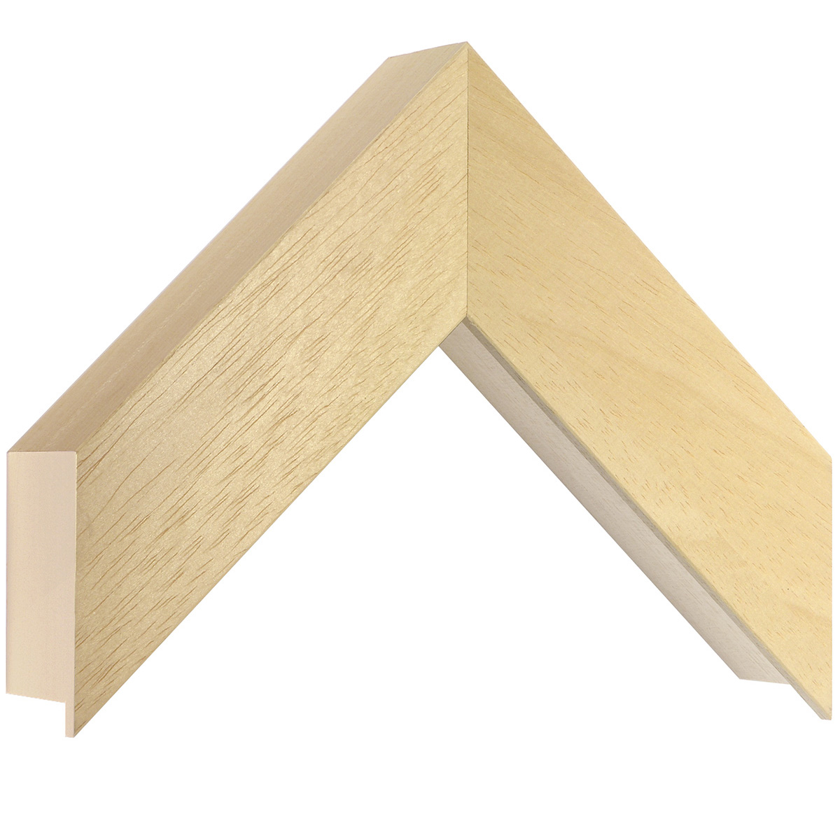 Moulding ayous, width 50mm, height 55mm, bare timber