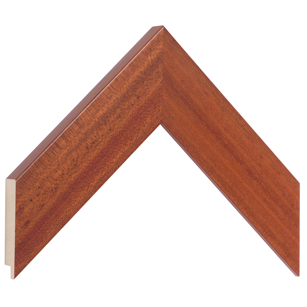Moulding ayous, width 48mm height 20 - Mahogany