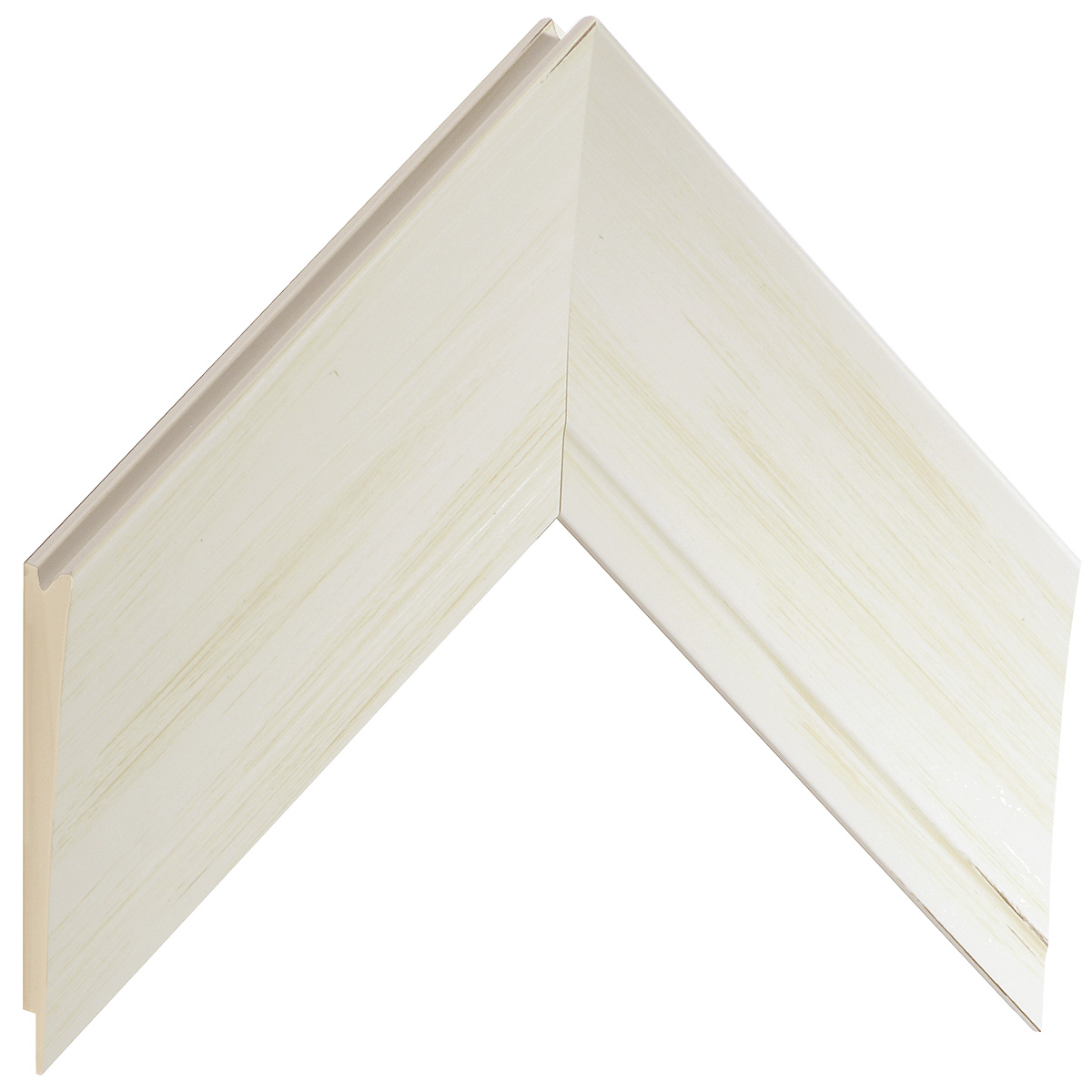 Moulding fir timber - Width 68mm - Cream finish
