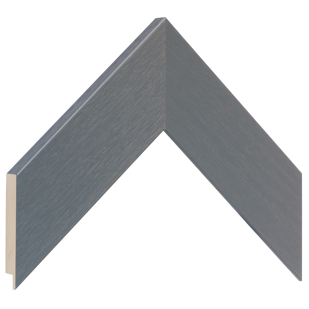 Moulding ayous 53mm - matt finish, grey