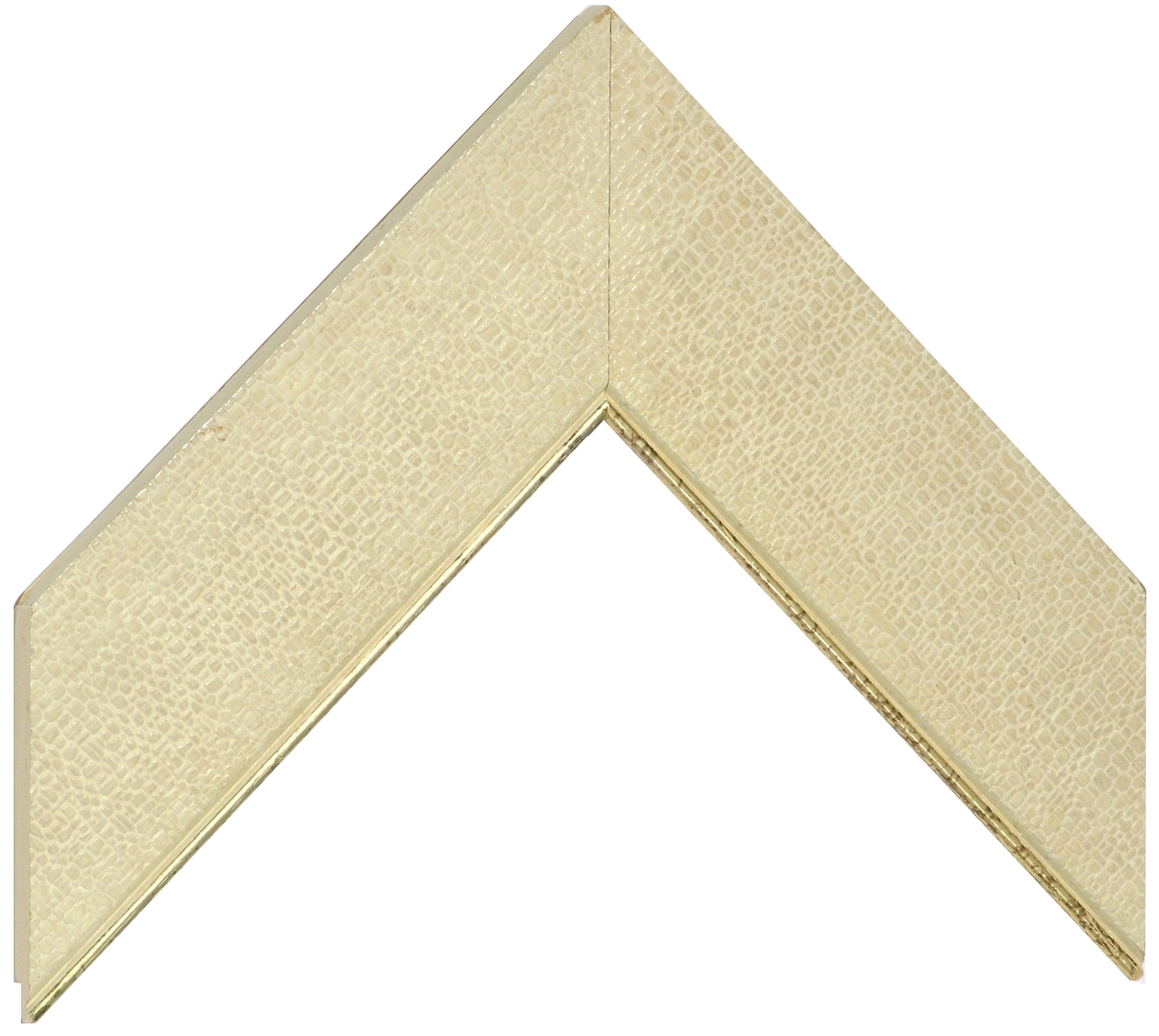 Liner ayous 52mm - flat, fabric effect, gold edge