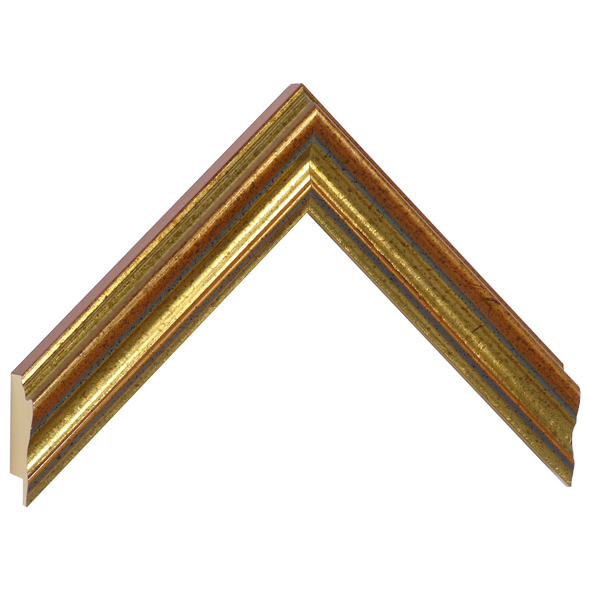 Moulding ayous 33mm - copper gold