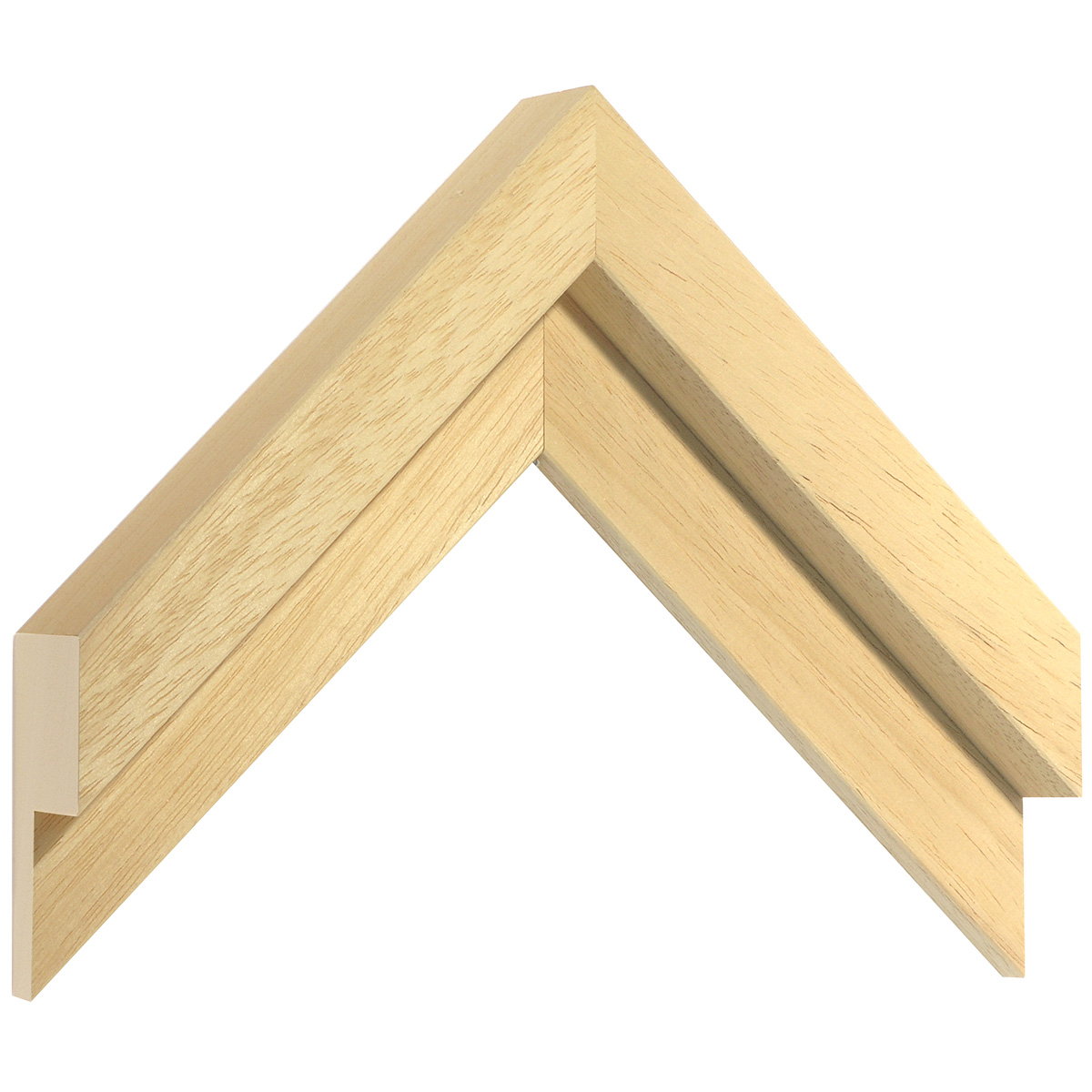 Moulding ayous Width 50mm Height 36 L-shaped