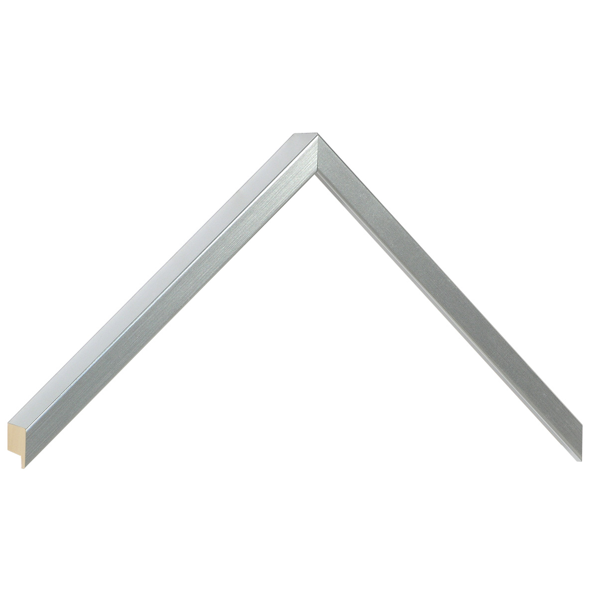 Moulding ayous, width 10mm, height 25mm - silver