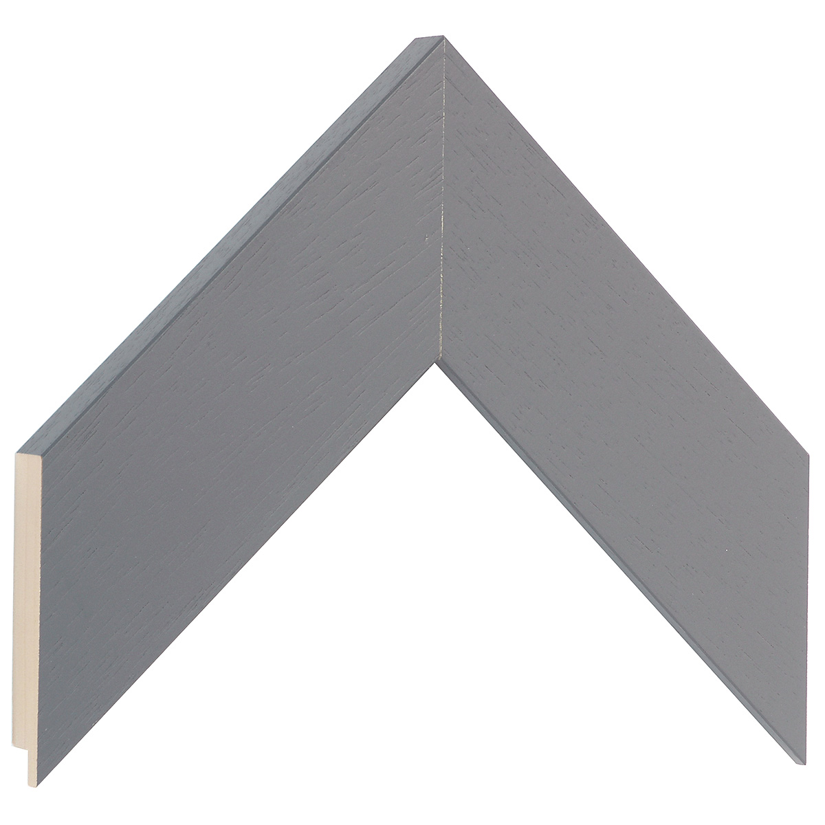 Moulding ayous - Width 58mm Height 20 - Iron Grey