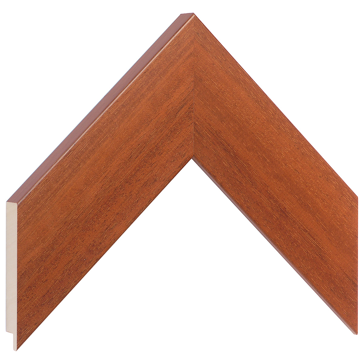 Moulding ayous, width 58mm height 20 - mahogany