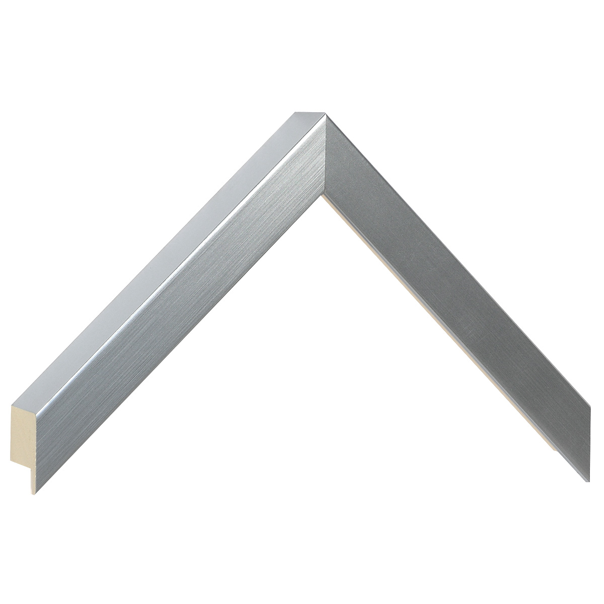 Moulding ayous, width 20mm height 32 - silver
