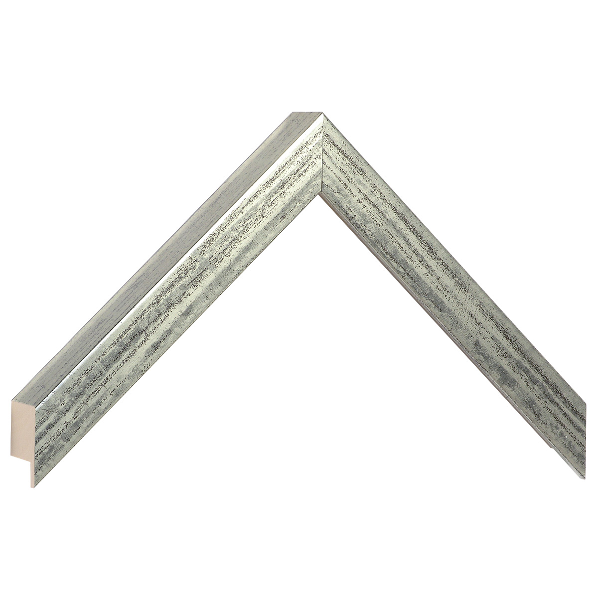 Moulding ayous, width 20mm height 32 - Old silver