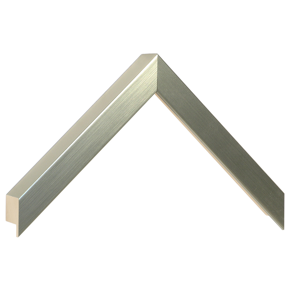 Moulding ayous, width 20mm height 32 - platinum