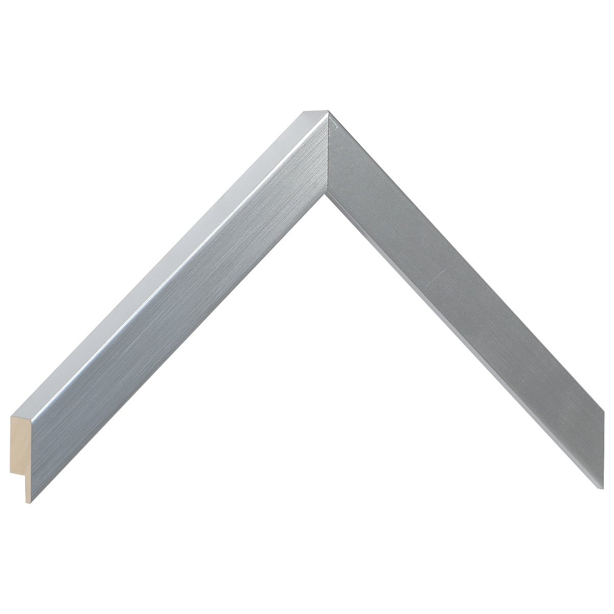 Moulding ayous, width 20mm height 25 - Silver