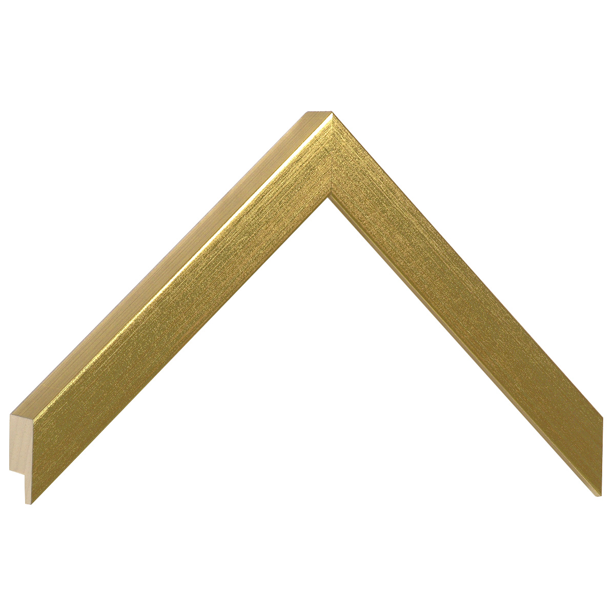 Moulding ayous, width 20mm height 25 - Gold