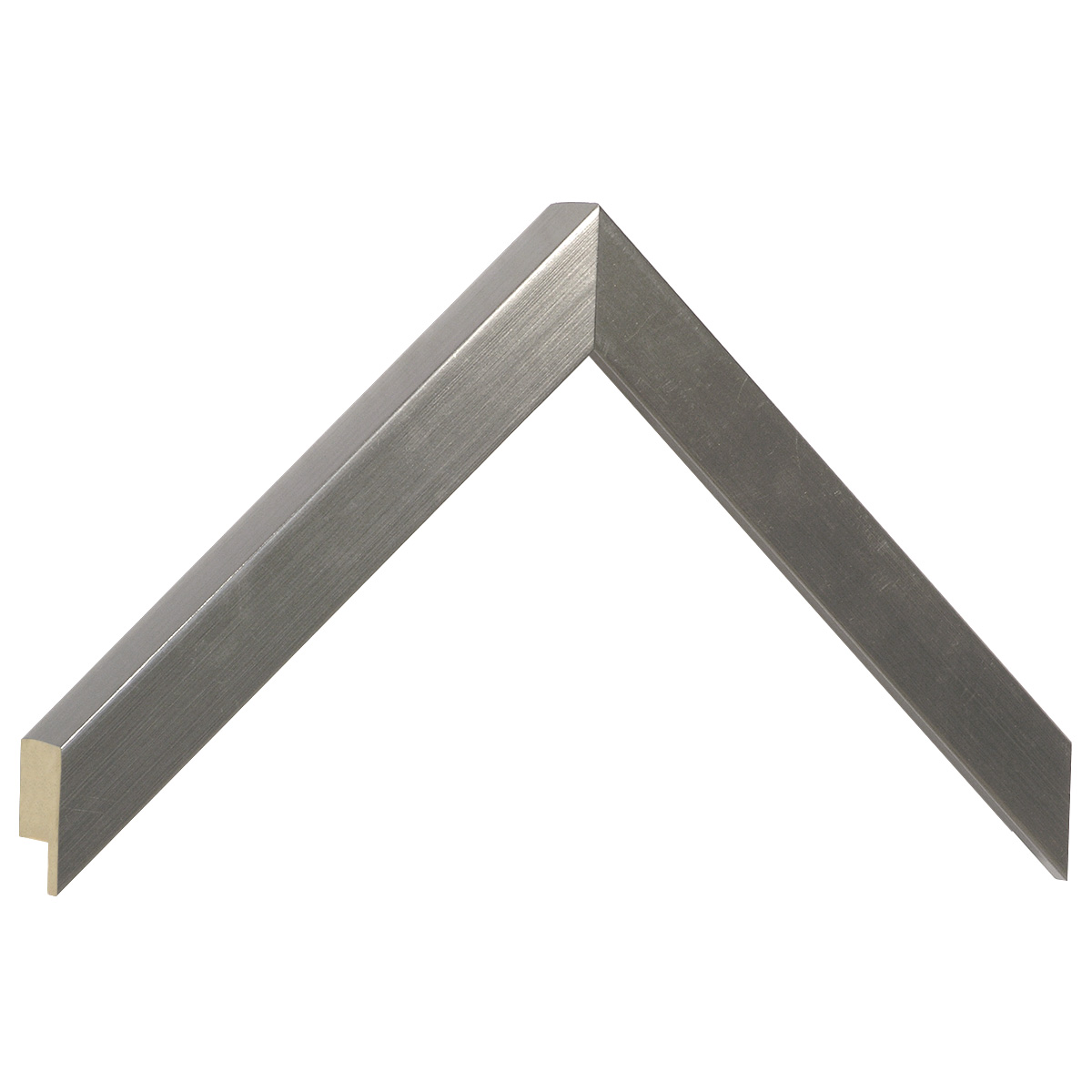 Moulding ayous, width 20mm height 25 - Pewter