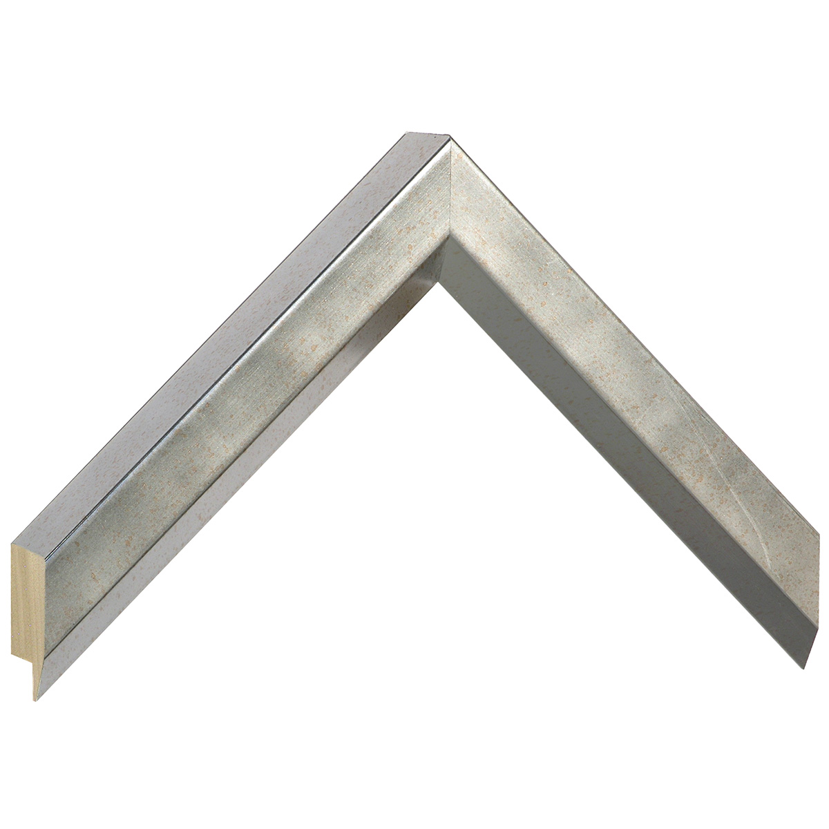 Moulding ayous, width 27mm height 35 - Old silver
