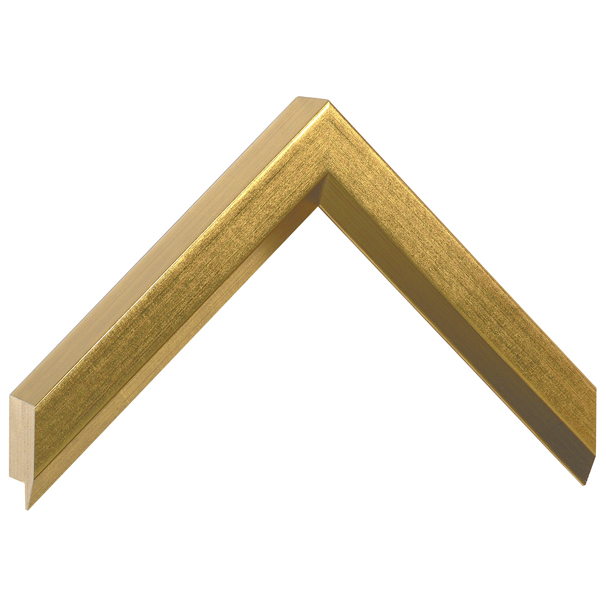 Moulding ayous, width 27mm height 35 - Gold