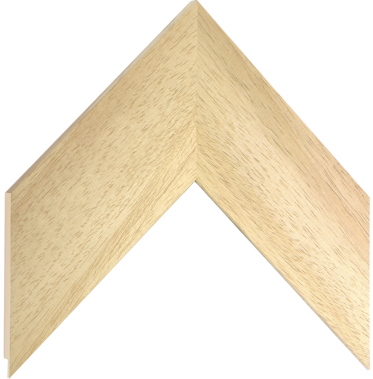 Moulding ayous, width 70mm, height 10mm, bare timber
