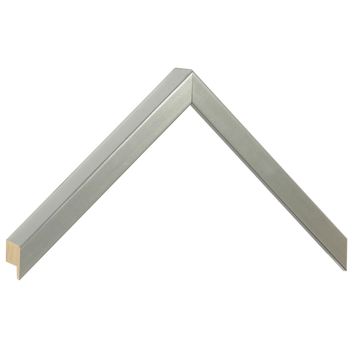 Moulding ayous, width 15mm height 32 - silver