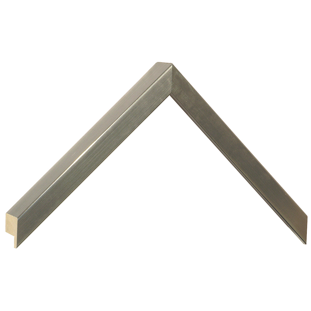 Moulding ayous, width 15mm height 32 - Pewter