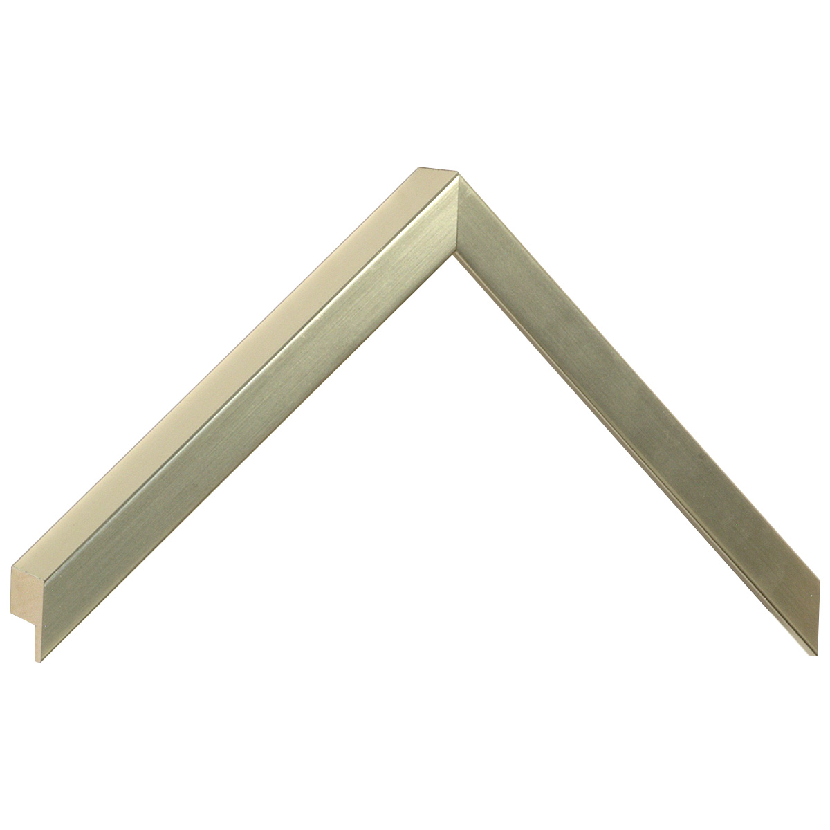 Moulding ayous, width 15mm height 32 - Platinum