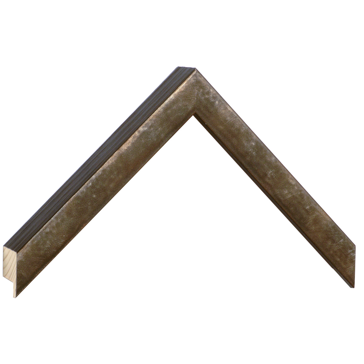 Moulding fir Width 19mm Height 34 - Rust finish