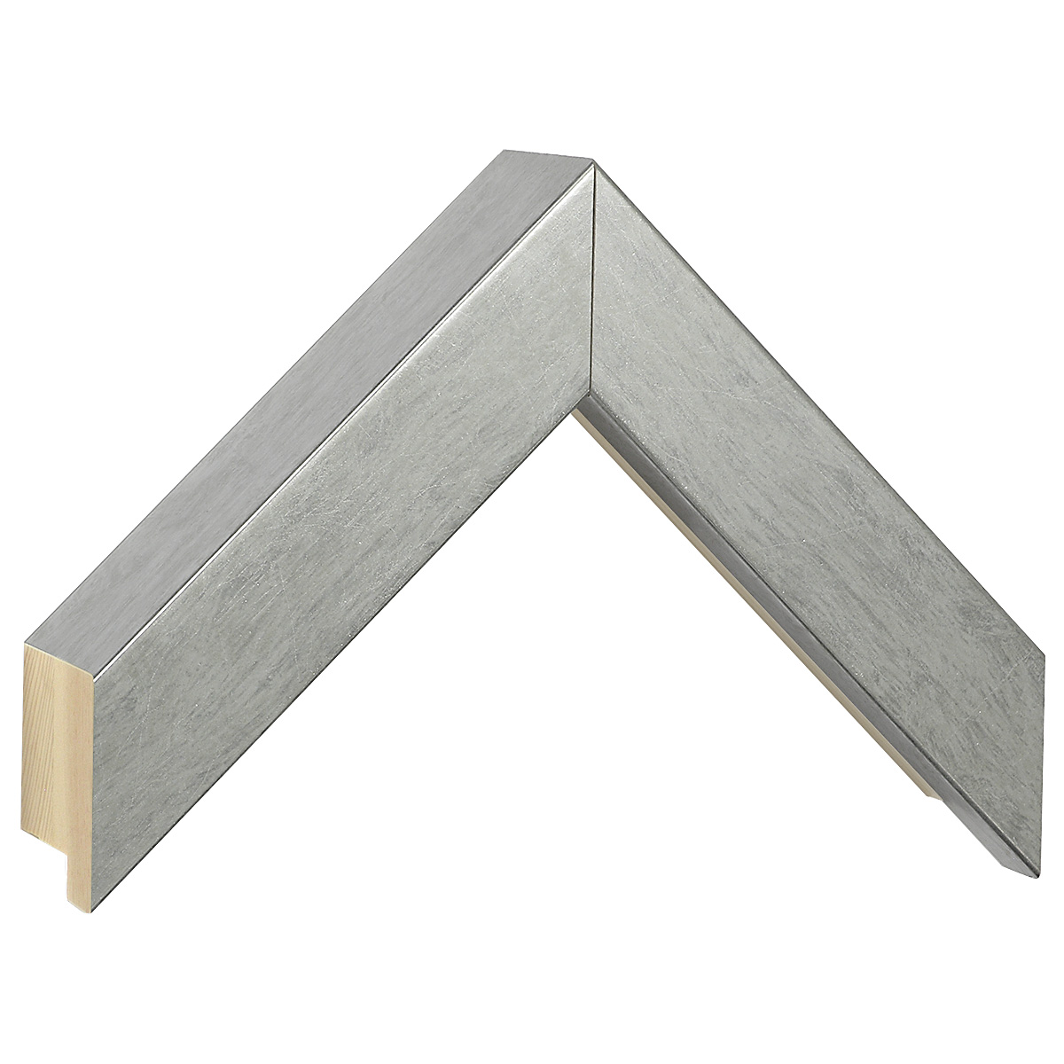 Moulding ayous, width 35mm, height 60, silver