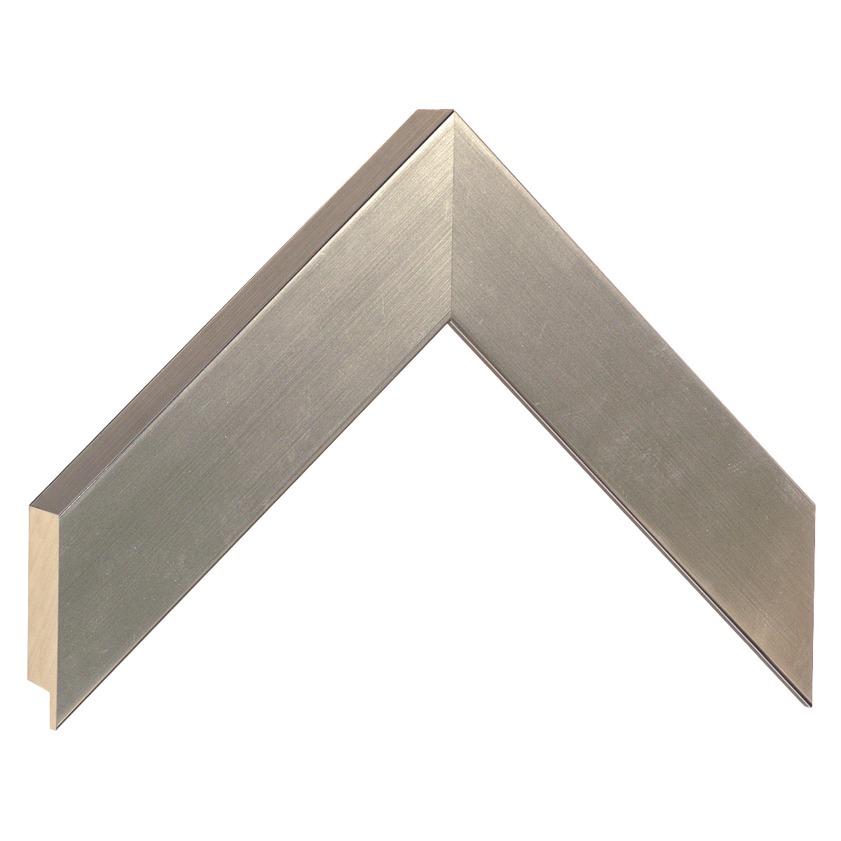 Moulding ayous, width 40mm height 32 - pewter