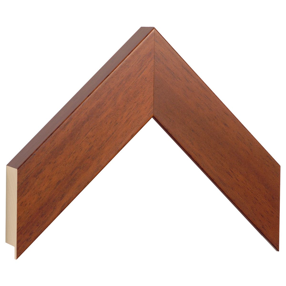 Moulding ayous, width 50mm height 32 - mahogany