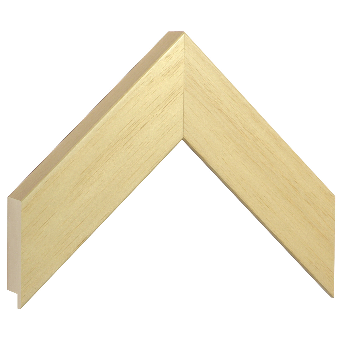 Moulding ayous, width 50mm height 32 - natural