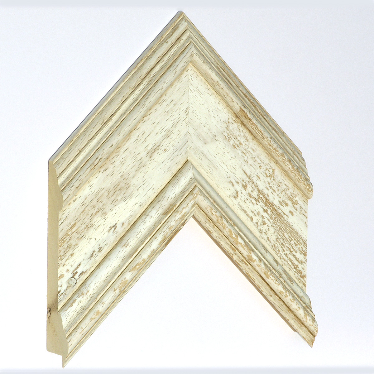 Moulding ayous - Width 105mm Height 34 - whitish