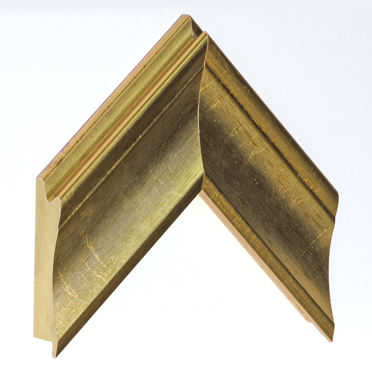 Moulding ayous, width 80mm, height 36, gold
