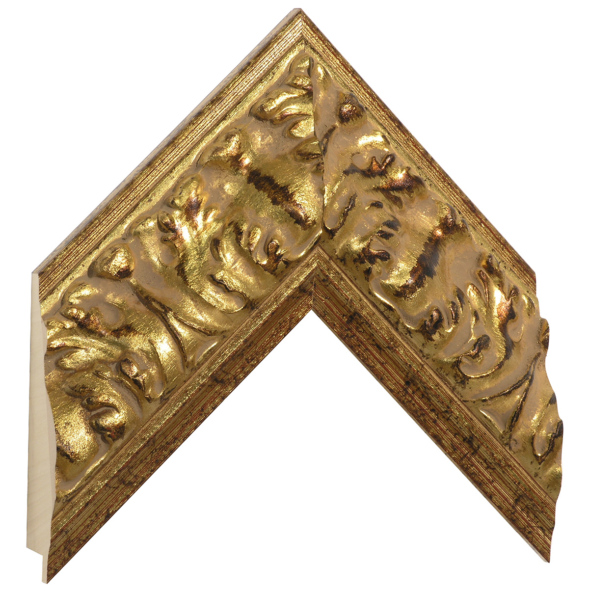 Moulding ayous, width 85mm, height 45, gold