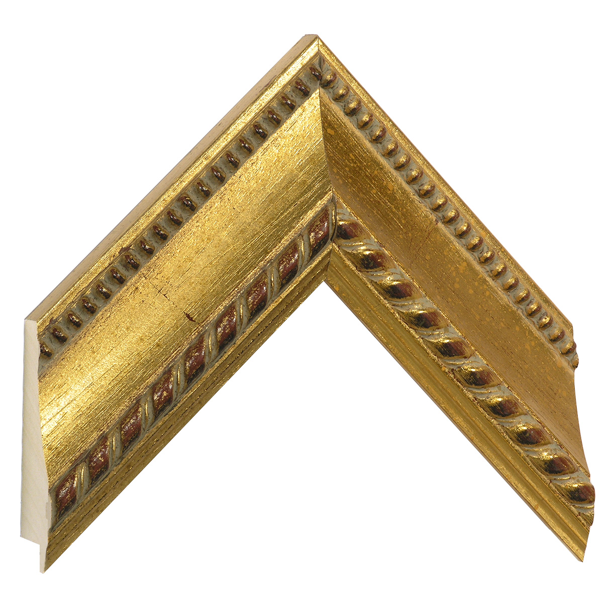 Moulding ayous, width 63mm, height 40, gold