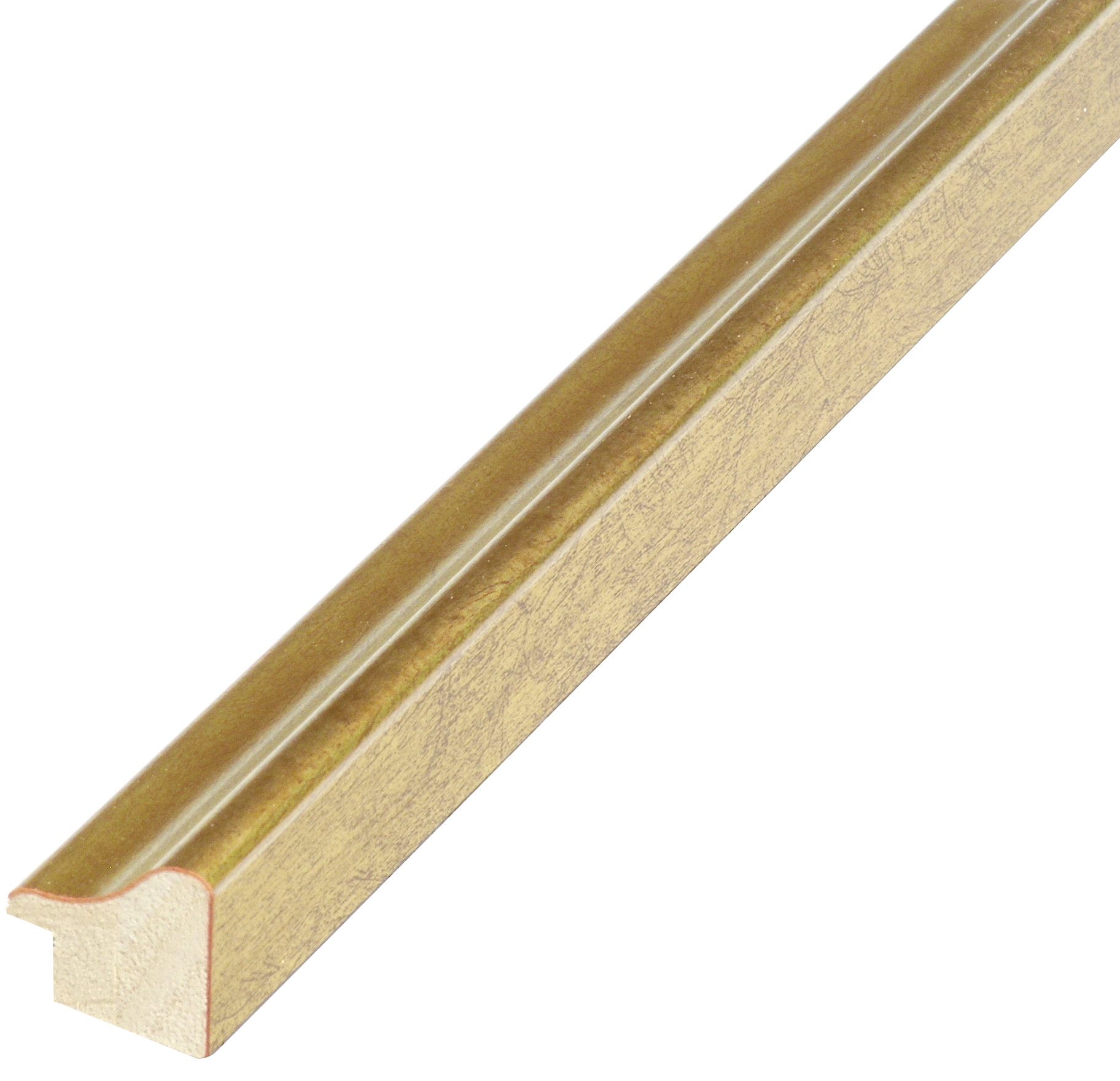Moulding ayous, width 23mm height 22 - gold finish